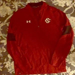 PRICE DROP!! Red Under Amour pullover